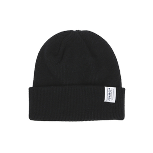 Barbour Men's Lambswool Watch Cap Beanie - Black