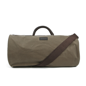 Barbour Men's Wax Holdall Bag - Natural