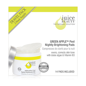 Juice Beauty Green Apple Peel Nightly Brightening Pads - FREE Gift