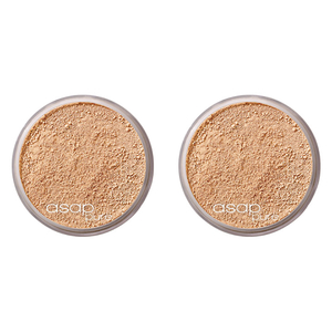2x asap pure mineral makeup - one.five