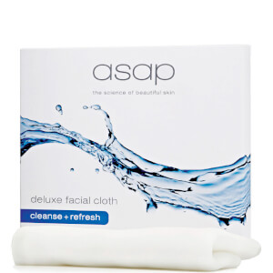asap deluxe facial cloth