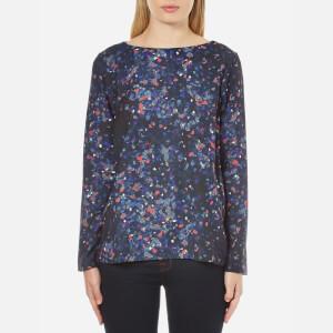 Selected Femme Women's Nisma Long Sleeve Top - Aop Print
