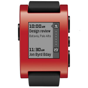 Pebble Classic Smartwatch - Red