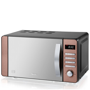 Swan SM22090COPN 20L Digital Microwave - Copper