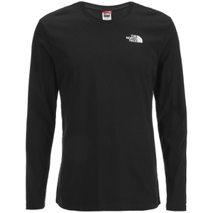 The North Face Men's Long Sleeve Easy T-Shirt - TNF Black