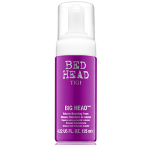 Espuma efecto volumen Big Head de Bed Head TIGI de 125 ml.