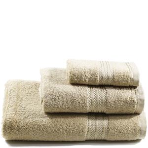 Restmor 100% Egyptian Cotton 3 Piece Towel Bale - Latte