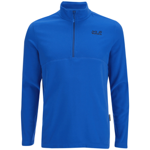 Jack Wolfskin Men's Gecko Fleece Jumper - Azure Blue