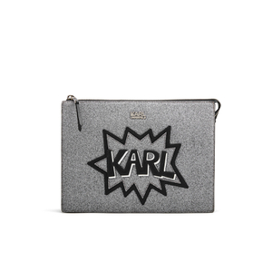 Karl Lagerfeld Women's K/Pop Pouch - Black
