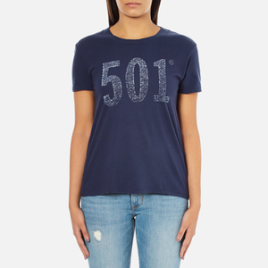 Levi's Women's Vintage Perfect T-Shirt - Peacoat Graphic
