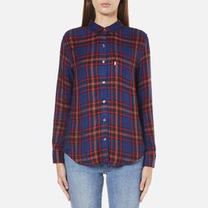 Levi's Women's Sidney 1 Pocket Boyfriend Shirt - Paprika Original