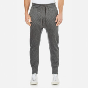 Helmut Lang Men's Embossed Jersey Sweatpants - Grey