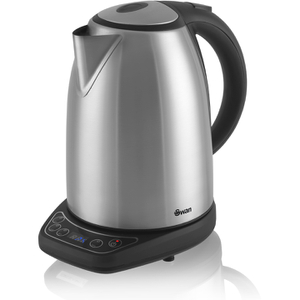 Swan SK25040N 1.8L Temperature Controlled Kettle - Stainless Steel