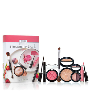 Laura Geller Strawberry Swirl 6 Piece Collection Fair (Worth £117)