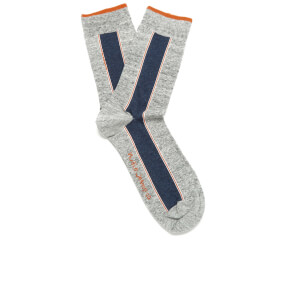 Nudie Jeans Men's Selvedge Socks - Light Grey