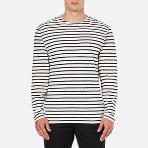 Wood Wood Men's Harrison Long Sleeve T-Shirt - Pristine/Dress Blues