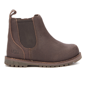 UGG Toddlers' Callum Suede Chelsea Boots - Chocolate