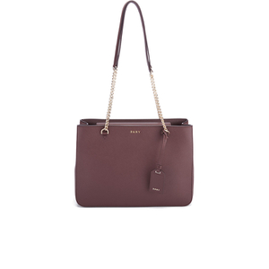 DKNY Women's Bryant Park Shopper Tote Bag - Oxblood