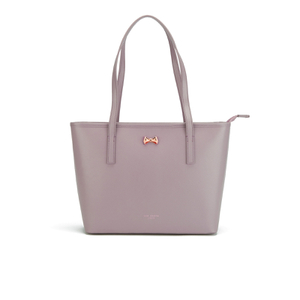 Ted Baker Women's Anaiya Micro Bow Small Shopper Tote Bag - Mid Purple