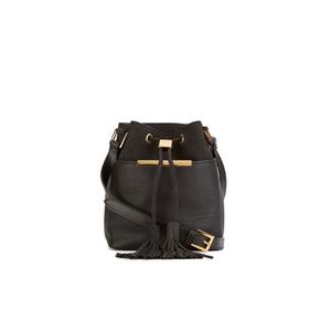 Ted Baker Women's Melania Suede Tassel Bucket Bag - Black