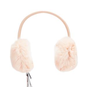 Ted Baker Women's Alvie Mini Bow Faux Fur Earmuffs - Nude Pink
