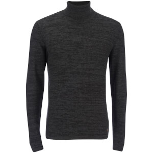 Produkt Men's Roll Neck Jumper - Dark Grey Melange