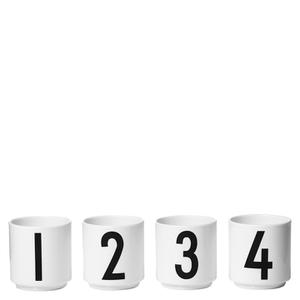 Design Letters Espresso Cups - Set Of 4