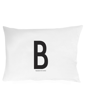 Design Letters Pillowcase - 70x50 cm - B