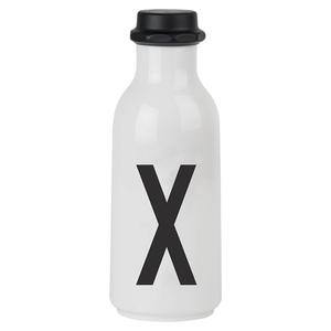 Design Letters Water Bottle - X