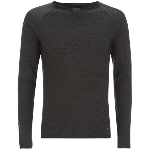 Produkt Men's Twist Knit Crew Neck Jumper - Beluga
