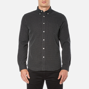 Edwin Men's Standard Shirt - Black/White