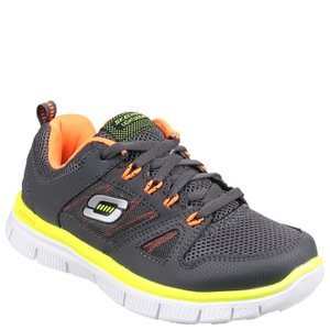 Skechers Kids' Flex Advantage Trainers - Charcoal
