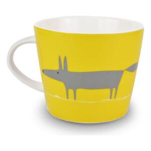 Scion Mr Fox Mug - Charcoal/Yellow
