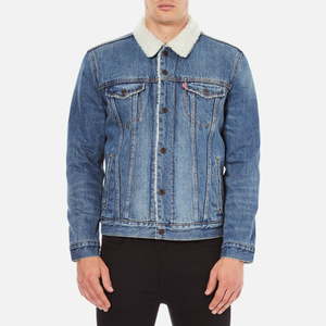 Levi's Men's Type 3 Sherpa Trucker Jacket - Buckman