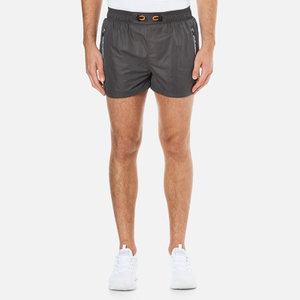 Superdry Men's Gym Training Sport Shorts - Grey Grit