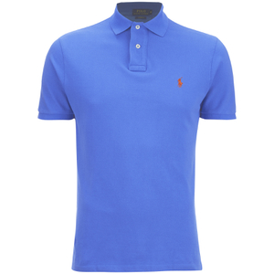 Polo Ralph Lauren Men's Slim Fit Polo Shirt - Cyan Blue
