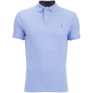 Polo Ralph Lauren Men's Slim Fit Polo Shirt - Pebble Blue