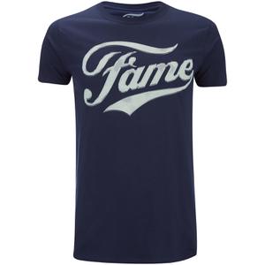 Fame Men's Logo T-Shirt - Navy