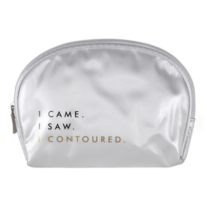 Contour Cosmetics Make Up Bag - I Came, I Saw, I Contoured