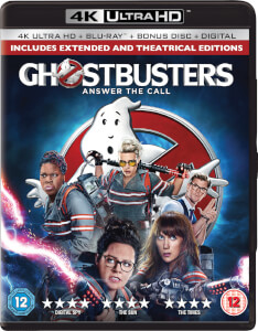Ghostbusters (2 Disc 4K Ultra HD & Blu-Ray)