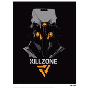 Killzone Black Art Print - 14 x 11