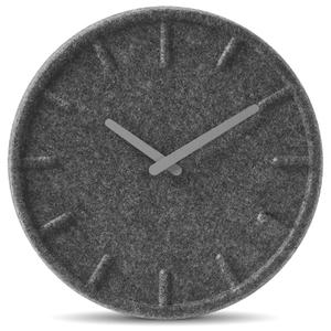 LEFF Amsterdam Felt Clock - Grey (35cm)