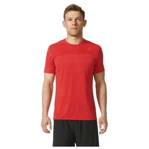adidas Men's Supernova Running T-Shirt - Red