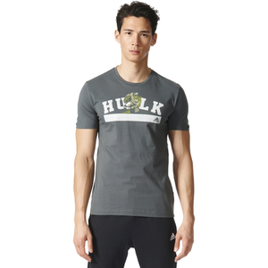 adidas Men's Hulk Training T-Shirt - Green