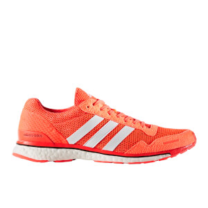 adidas Men's Adizero Adios 3 Running Shoes - Red/White