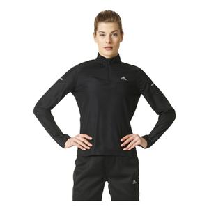 adidas Women's Sequencials Running Anorak - Black