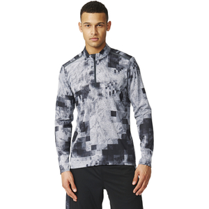 adidas Men's Cool 365 Training Long Sleeve Shirt - Black