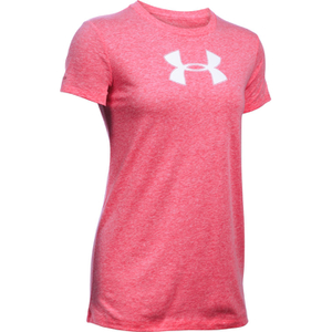 Under Armour Women's Favorite Big Logo Short Sleeve T-Shirt - Knock Out
