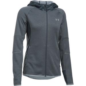 Under Armour Women's Swacket Full Zip Hoody - Stealth Grey