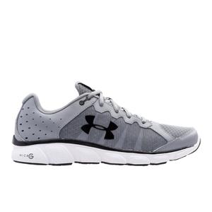 Under Armour Men's Micro G Assert 6 Running Shoes - Steel/White/Black